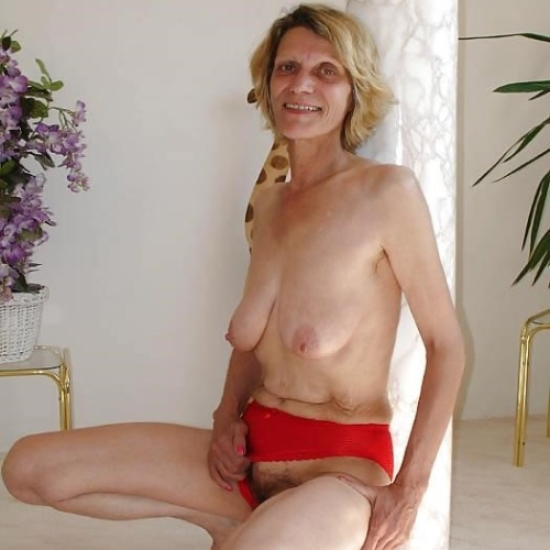 Skinny naked older women