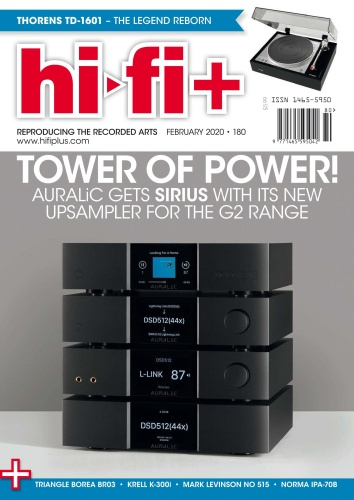 Hi-Fi - Issue 180 - February (2020)