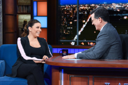 Eva Longoria - The Late Show with Stephen Colbert: October 2nd 2018