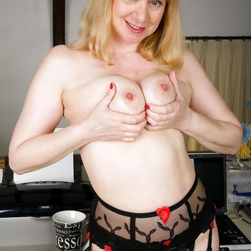 British mature porn models