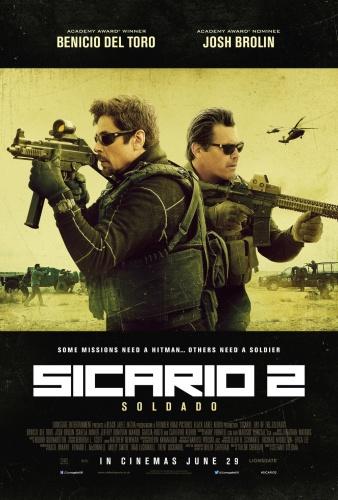 Sicario - Day of the Soldado (2018) 720p BluRay x264 ESubs [Dual Audio][Hindi+English]