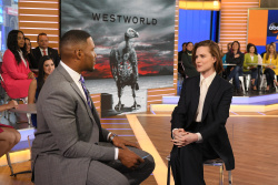 Evan Rachel Wood - Good Morning America: April 19th 2018