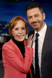 Carol Burnett - Jimmy Kimmel Live: April 30th 2018