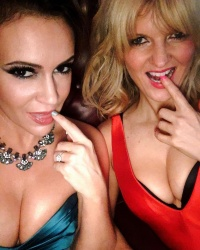 Alyssa Milano and Arden Myrin Looking Hot Together - 12/19/18 Instagram