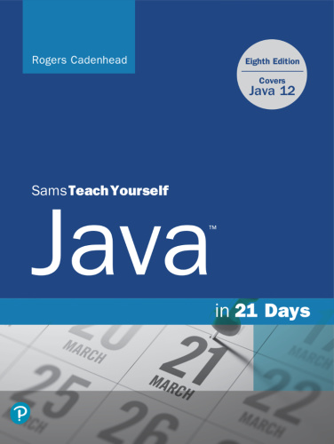 Sams Teach Yourself Java in 21 Days (Covers Java 1112)