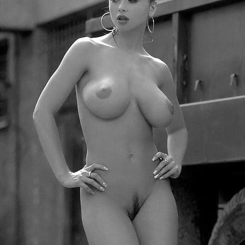 Black white porn photo