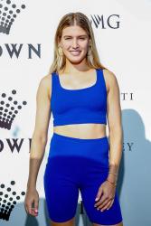 Genie Bouchard - Crown IMG Tennis Party in Melbourne 1/13/19
