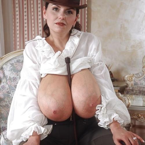 Huge black saggy boobs