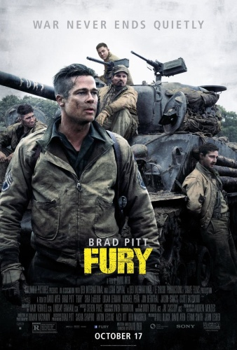 Fury (2014) 1080p x265 HEVC 10bit BluRay AAC 5 1 Prof