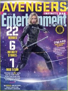 Scarlett Johansson -           Entertainment Magazine March 2018.