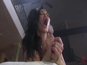 Jasmine Jae Learns a Lesson - BDSM, Punishment, Bondage