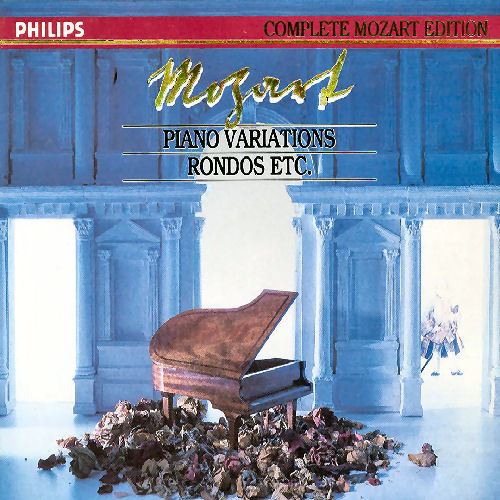 Mozart - Piano Variations, Rondos etc    Mitsuko Uchida, Ingrid Haebler   (5CDs)