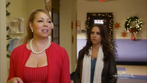 Mariah Carey , Lacey Chabert - A Christmas Melody (2015) | HD 720p