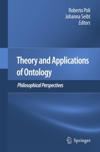 Theory and Applications of Ontology- Philosophical Perspectives