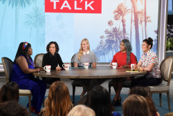 Beth Behrs - The Talk: July 4th 2018