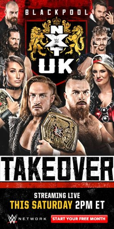WWE NXT UK TakeOver Blackpool 2020 Pre Show 1080p  h264-HEEL