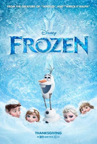 Frozen 2013 720p BluRay 800MB x264-GalaxyRG