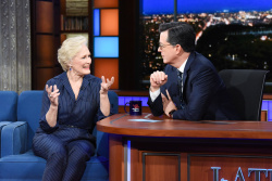 Glenn Close - The Late Show with Stephen Colbert: February 8th 2019