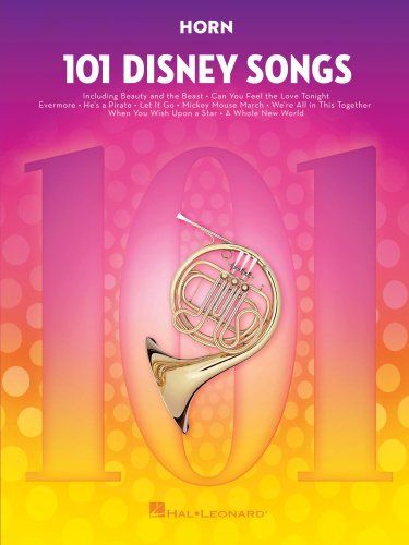 101 Disney Songs For Horn (2018)