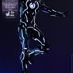 "Iron Man 2 - Mark IV Neon Tech ""Toy Flair Exclusive 2018"" 1/6 (Hot Toys) 0M30ciK2_t"
