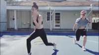 Kaley Cuoco & Briana Cuoco - Workout 11/6/2020