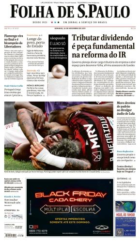 Folha de S 227 o Paulo - 24 11 (2019)
