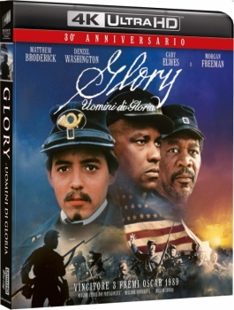 Glory - Uomini di gloria (1989) Full Blu-Ray 4K 2160p UHD HDR 10Bits HEVC ITA DTS-HD MA 5.1 ENG Atmos/TrueHD 7.1 MULTI