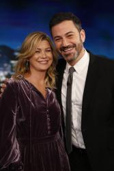 Ellen Pompeo - Jimmy Kimmel Live: February 8th 2018
