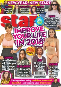 Star Magazine UK  08 January (2018)