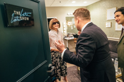 Anna Wintour - The Late Late Show with James Corden: October 25th 2017