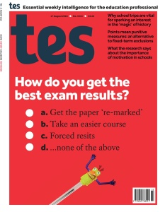 Times Educational Supplement - August 17 (2018)