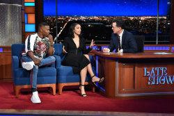 Corinne Foxx - The Late Show with Stephen Colbert: May 15th 2018