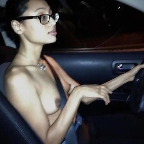 Teen public naked