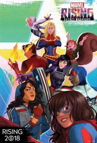 Marvel Rising Initiation S00E12 Playing With Fire 720p HULU WEBRip DDP5 1 x264-LAZY