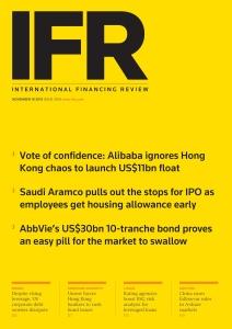 IFR Magazine  November 16 (2019)