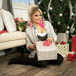 Alexa Bliss - Christmas photoshoot - 12/03/2018
