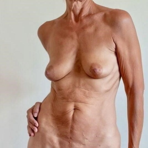 Thick older naked women