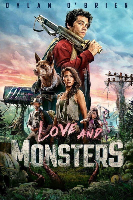 Love and Monsters (2020) 720p HEVC WEB-HD English x265 600MB