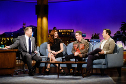 Debra Messing - The Late Late Show with James Corden: November 16th 2017