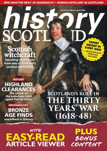 History Scotland - March-April (2020)