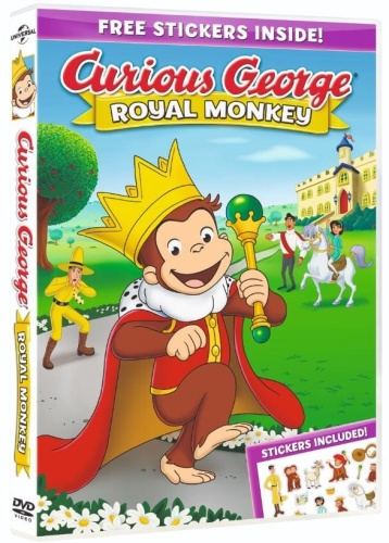 Curious George Royal Monkey (2019) WEBRip 720p YIFY