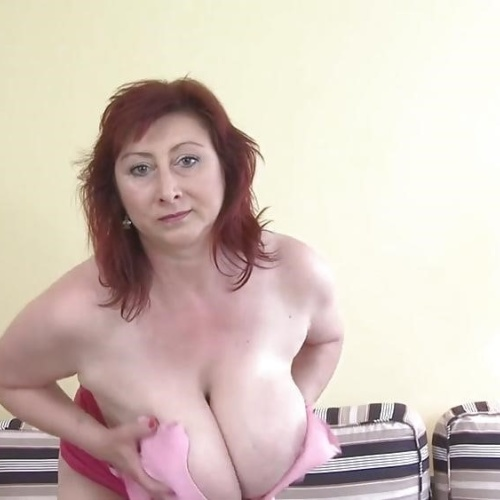 Huge boobs mature porn