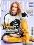 Jessica Chastain - Grazia France September 2018