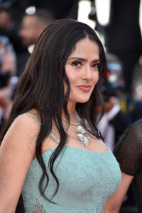 "Salma Hayek - Arrives For ""Girls Of The Sun"" Premiere 71st Annual Cannes Film Festival (5/12/18)"