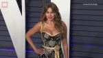 Sofia Vergara flaunts cleavage at Vanity Fair Oscar Party 2019