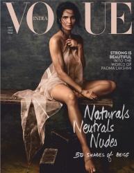 Padma Lakshmi -                 Vogue Magazine (India) May 2019.
