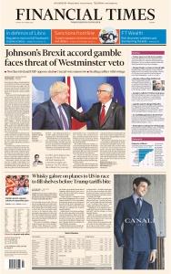 Financial Times Europe - 18 10 (2019)