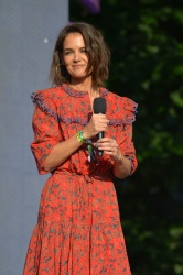 Katie Holmes - Global Citizen Festival in New York 09/29/2018