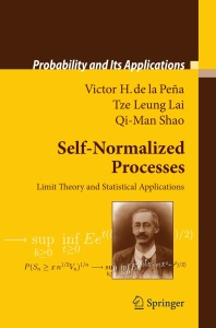 Self-Normalized Processes Limit Theory and Statistical Applications