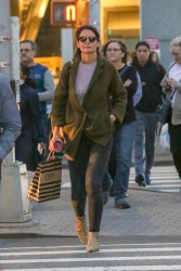 Katie Holmes - Out shopping in NYC 10/12/18